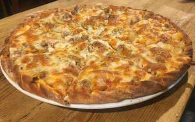 ¿Quién dice que esta pizza no es manchega?