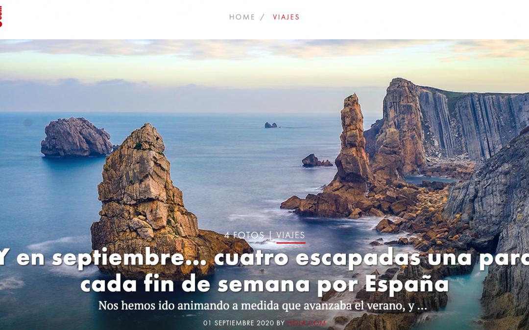 La revista HOLA recomienda Chinchilla y su comarca para una escapa de fin de semana en el mes de septiembre